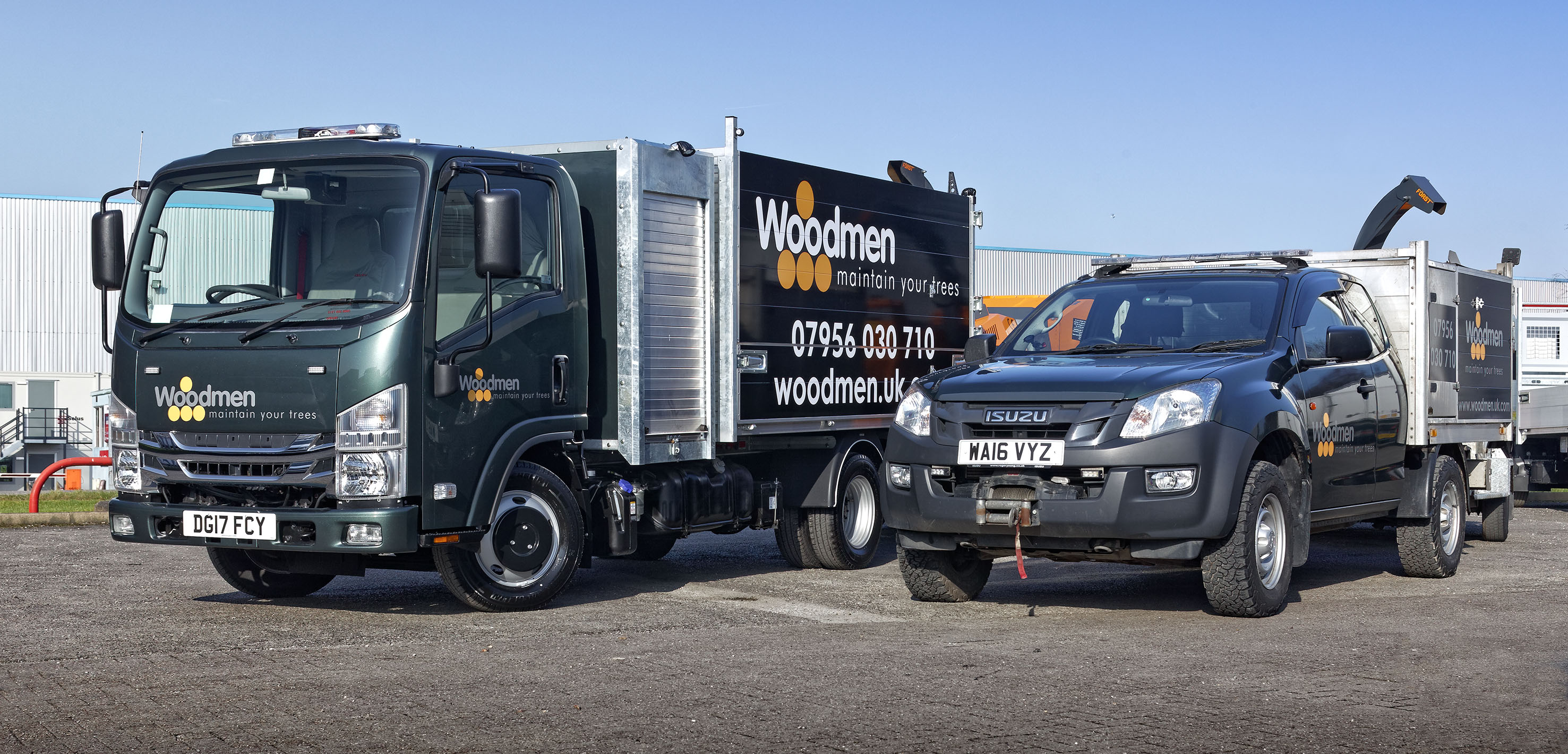 Isuzu Grafter Is Top Of The Tree For Woodmen Uk Fencing