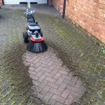 The Cubb Weed Brush … now powered by Honda