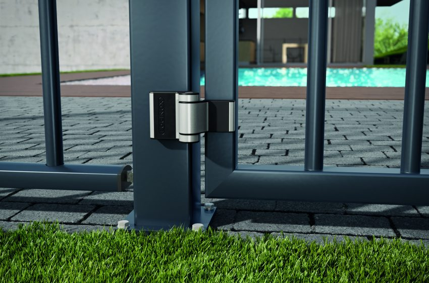 Locinox launches the Puma hinge: the aesthetic solution for residential gates