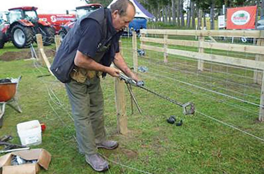 The World of Fencing on display at NZ' National Fieldays 2017