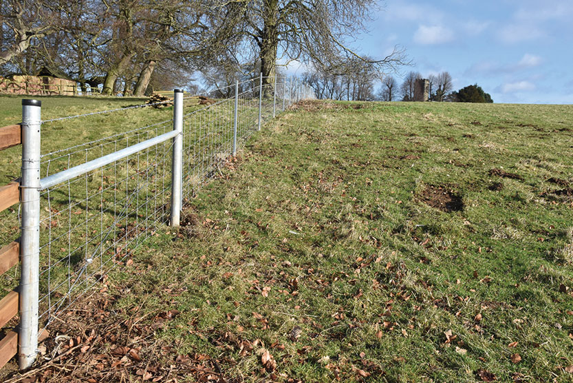 Hampton's Metal Fence Systems Chosen by The National Trust's Calke Abbey