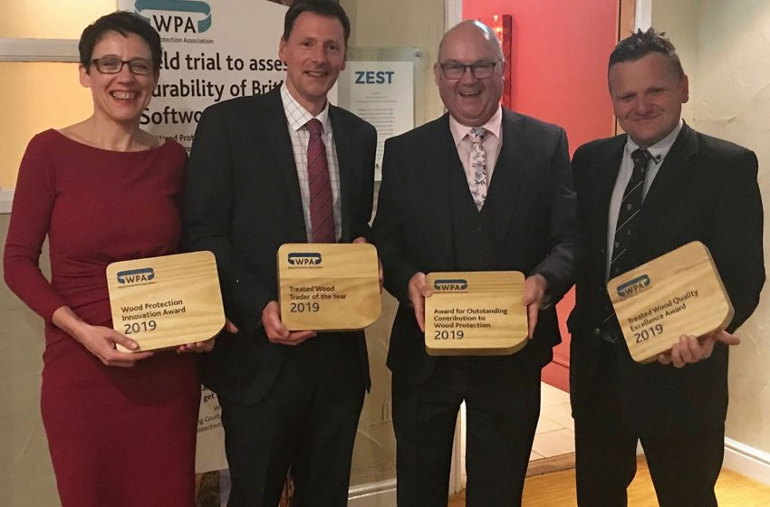 WALFORD TIMBER WINS TREATED WOOD TRADER OF THE YEAR 2019