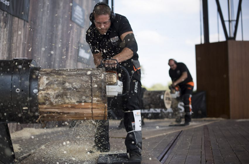 NATIONAL ATHLETES TO COMPETE FOR CROWN AT STIHL TIMBERSPORTS® BRITISH CHAMPIONSHIP