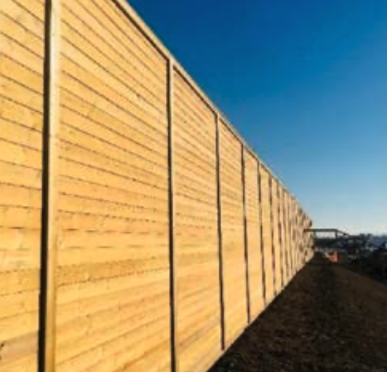 JACKSONS FENCING ACOUSTIC BARRIER SYSTEM RECEIVES CE MARKING