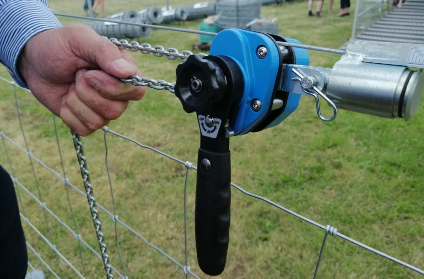 SMART MOVE WITH SERCA FENCE STRAINER