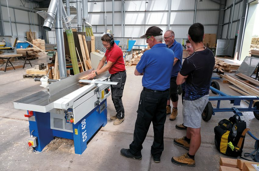 HALES SAWMILLS INVEST IN OPERATOR TRAINING WITH DALTONS WADKIN