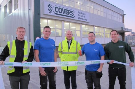 COVERS SOUTHAMPTON OPENS NEW DEPOT