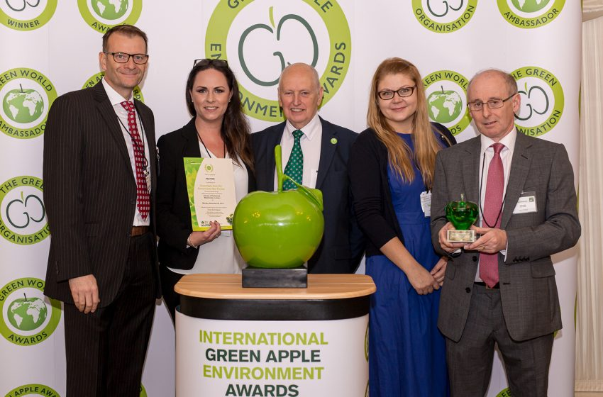 POLYPIPE TRIUMPHS AT GREEN APPLE AWARDS