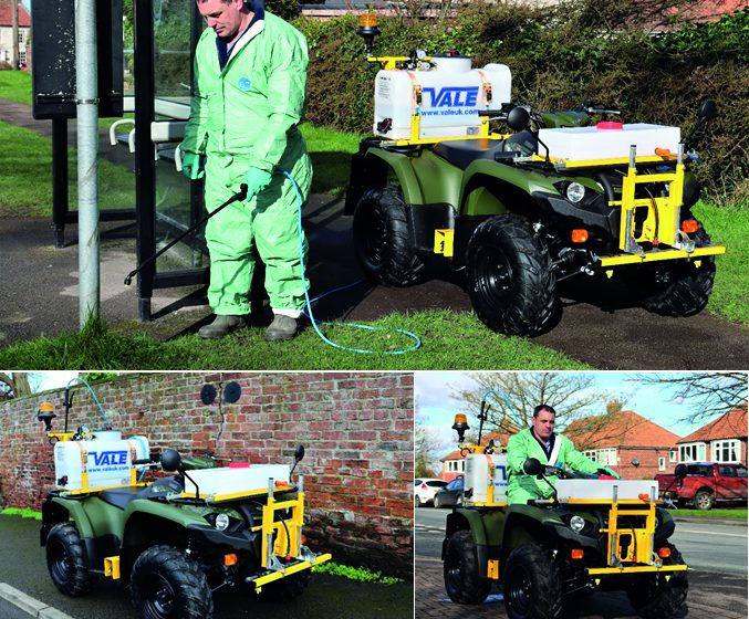 VALE LAUNCHES NEW ATV WEED SPRAYING SYSTEM