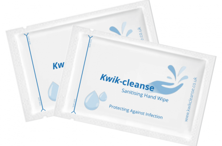 Packaging Specialists, Kwikpac Ltd., Begin Manufacturing Sanitising Hand Wipes