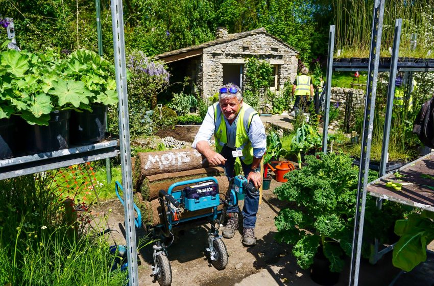 MAKITA UK SUPPORTS GARDEN OF THE DECADE