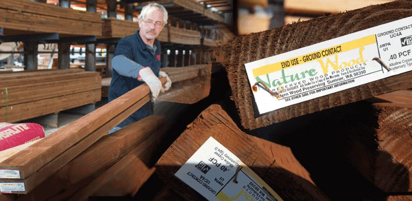 CAMPAIGN AIMS TO IMPROVE THE WAY TREATED WOOD IS BOUGHT AND SOLD