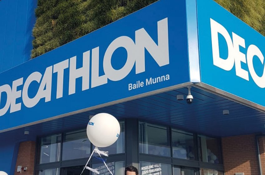 MOBILANE HITS THE WALL WITH DECATHLON