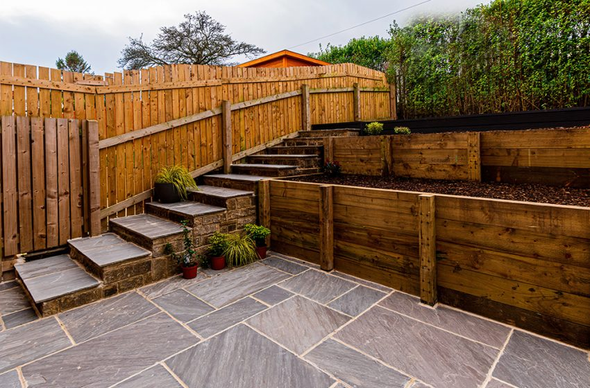 CREATIVE SOLUTIONS FOR AN UNEVEN GARDEN