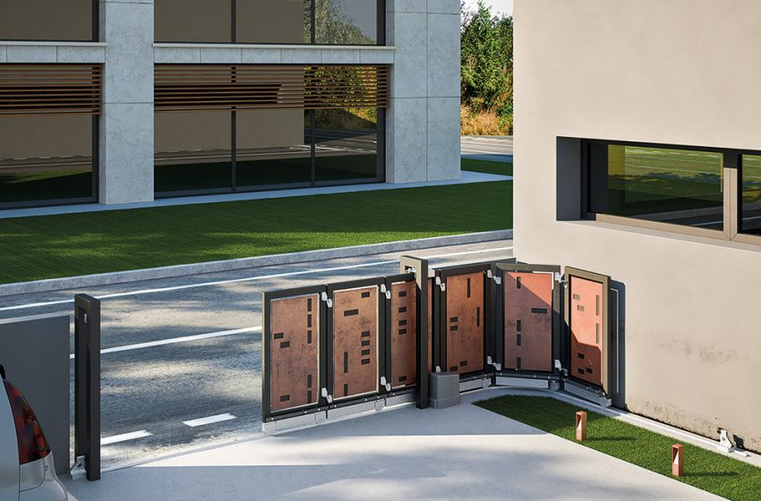 ITALIAN GATE HARDWARE MANUFACTURER FAC IS INTRODUCING ITS NEW HEAVY-DUTY BI-FOLDING GATE KIT INTO THE UK