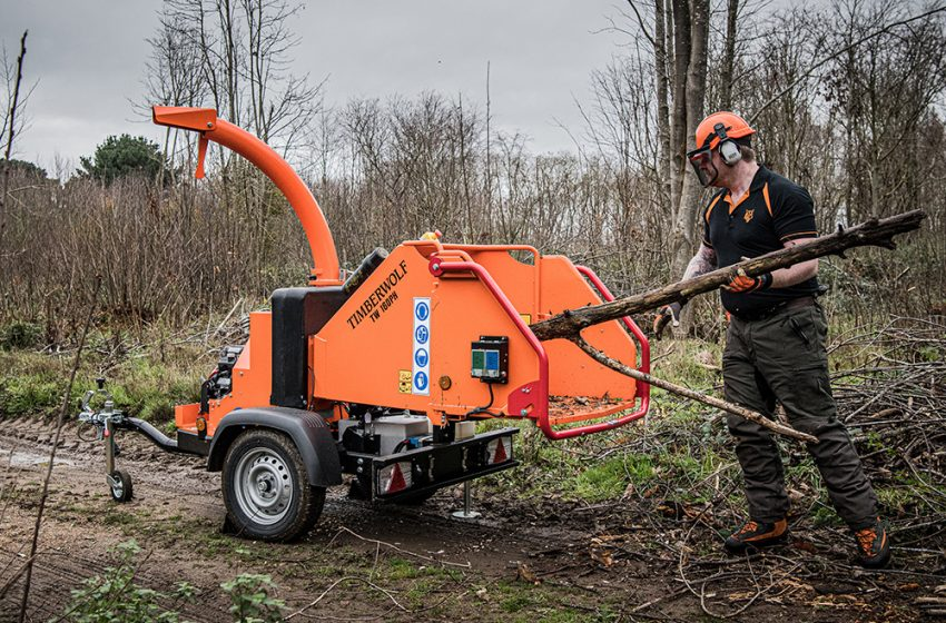 TIMBERWOLF LEAD THE PACK FOR SUB-750KG WOOD CHIPPERS