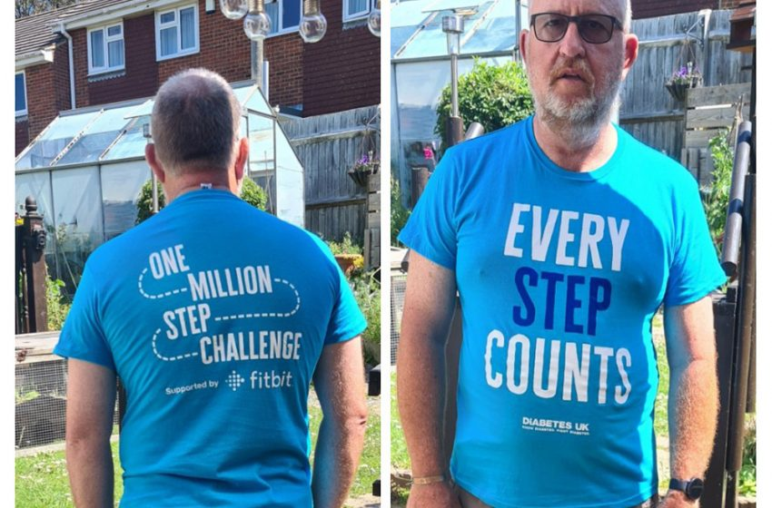COVERS EMPLOYEE TO WALK A MILLION STEPS FOR CHARITY
