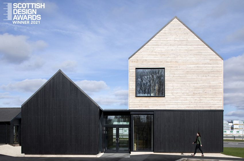 NEW LOCKERBIE VISITOR BUILDING SCOOPS TWO WINNING CATEGORIES AT SCOTTISH DESIGN AWARDS