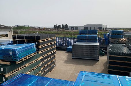 FIRST FENCE OPENS CANVEY ISLAND DEPOT